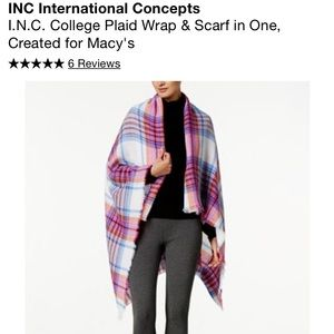🔥 *Brand New* INC wrap blanket